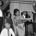 """En 1966 en el elenco de """"El Matrimonio del Señor Mississippi"""" primaba la amistad y el buen ánimo. Aparecen Pablo Fernández, Aldo Brero, Mocha Graña, Saby Kamalich, Carlos Tuccio, Ricardo Roca Rey y Ricardo Blume."""