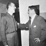Conversa en 1961 Ricardo Roca Rey con Benjamín Cisneros importante funcionario de Backus y creativo escritor de las historias televisadas.